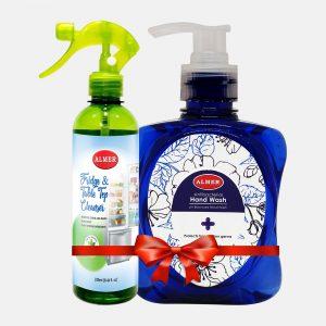 Almer Fridge Cleaner 250ml (Hand Wash 250ml Free)