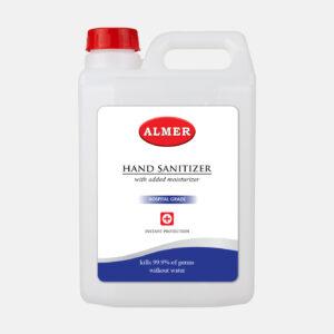 Almer Hand Sanitizer 5ltr Front