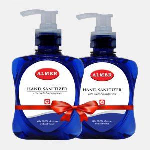 Almer Hand Sanitizer Dove Blue 250ml (Buy 1 Get 1 Offer)