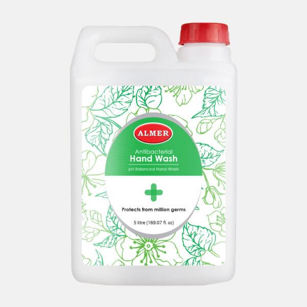 Almer Hand Wash Green Jar 5ltr