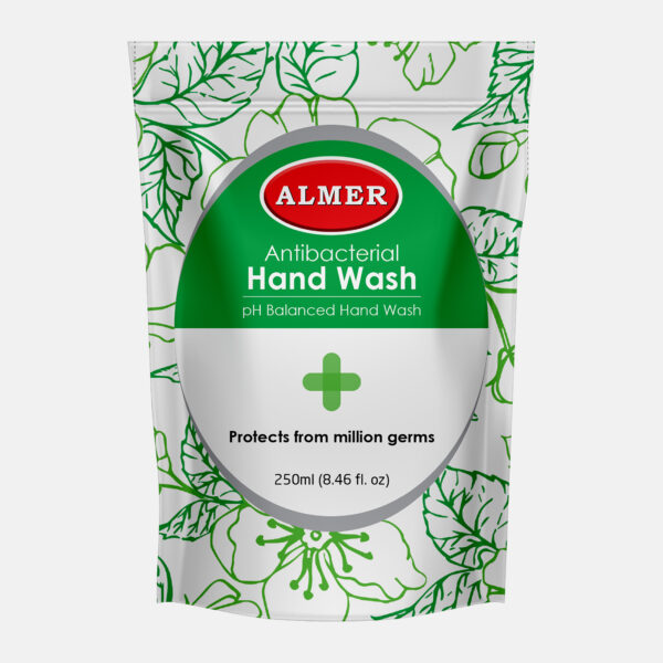 Almer Hand Wash Pouch Pack Green 250ml