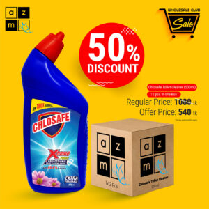 Chlosafe Toilet Cleaner 500ml (12 Pieces)