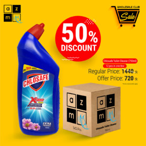 Chlosafe Toilet Cleaner 750ml (12 Pieces)