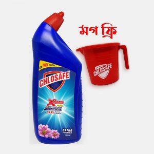 Chlosafe Toilet Cleaner 750ml (Free Mug)