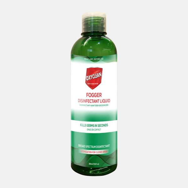Oxyclean Fogger Disinfectant Spray 250ml Front