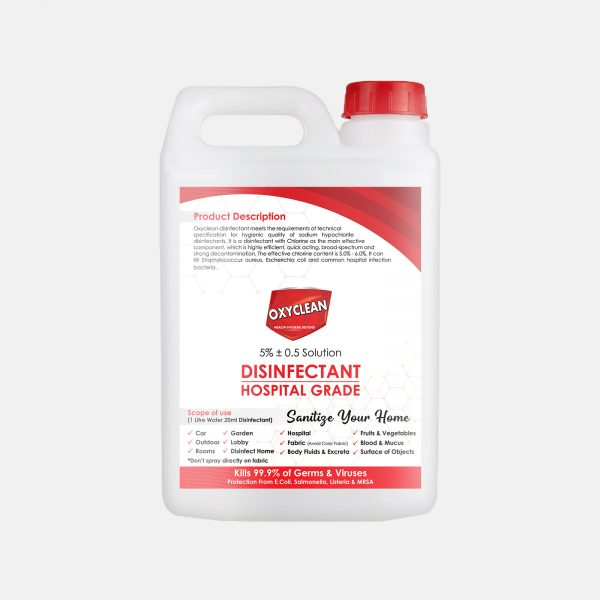 Oxyclean Hypo Disinfectant 5L